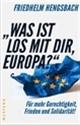 Was ist los mit dir, Europa?